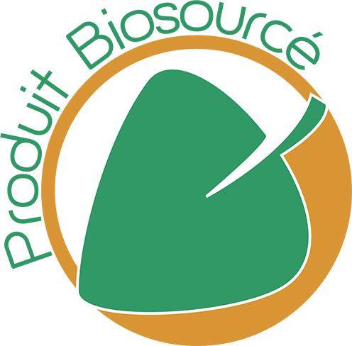 Logo label produit biosourcé
